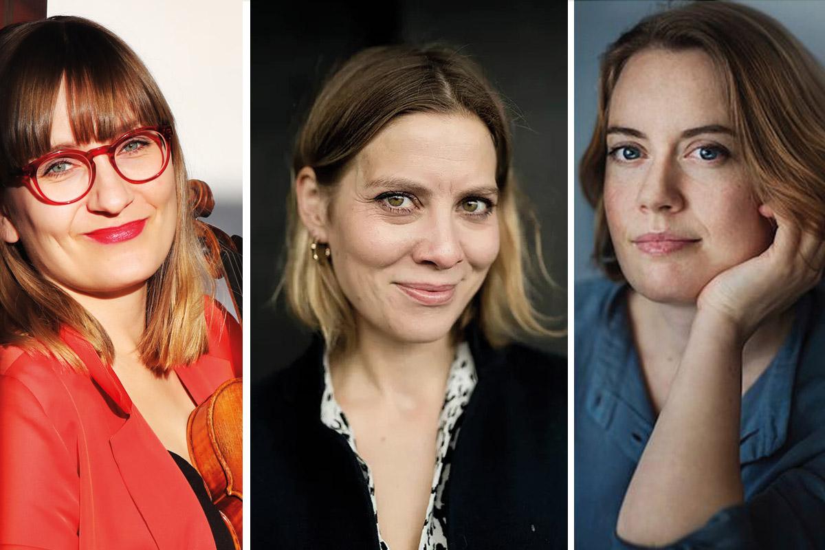 Erikka Maalisima, Torun Stavseng and Anna Christensson